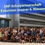Hasenroboter Rosa erfreute die Schülerherzen: FEG-Schulpartnerschaft mit SAP