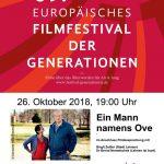 """""""Ein Mann namens Ove"""" am 26.10. im Martin-Luther-Haus in St. Ilgen"""