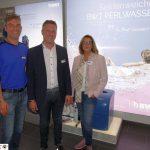 Perlwassertag in der Elements Ausstellung von Fa. Emmel