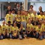 Turmschulenklasse 4c erhält Siegerpokal vom Kerwe-Staffellauf