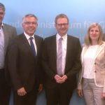 Arbeitsbesuch Kreistags-Delegation in Berlin, Gespräche im Gesundheitsministerium