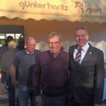 Leimens Ehrenbürger und Rad-Olympiasieger Günter Haritz zum 70. Geburtstag