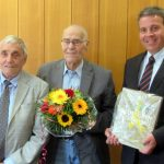 Sitzung der Hardtgruppe - Diplom-Ingenieur Karl-Heinz Körber verabschiedet