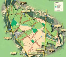 Waldschutzgebiet Schwetzinger Hardt: Alter Postweg in neue Form gebracht