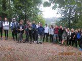 Wander-Halb-Marathon der Klasse 9a der Otto-Graf-Realschule diente gleich drei guten Zwecken