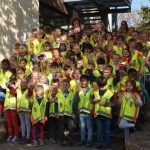 MSC St. Ilgen und ADAC spendeten Schulanfängern Sicherheitswesten