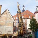 """""""Bohrturm"""" in der Rathausstrasse: Keine Ölsuche sondern Baugrund-Absicherung"""