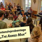 Drei Tage Probe für Schulchor und Orchester des Fr.-Ebert-Gymnasiums in Rotenberg