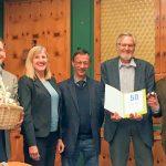 Ehrung in Leimen: Hartmut Schau seit 50 Jahren FDP-Mitglied