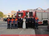 Feuerwehrhochzeit in Leimen-Mitte