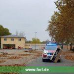 Fahrsicherheitstraining für DRK- und DLRG-Helfer in Leimen