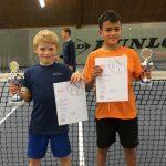 Tennis: Blau-Weiß Leimen erfolgreich bei den Jugend-Bezirksmeisterschaften