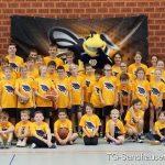Basketball Herbst-Camp der Wild Bees mit ca. 40 Teilnehmern