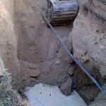 Wasserrohrbruch Nähe Friedhof Leimen: </br>Direkter Schaden bis zu 100.000 Euro
