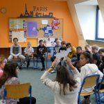 Das FranceMobil an der Otto-Graf-Realschule: Französisch kann wirklich Spaß machen!