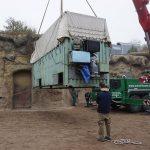 Tierischer Schwertransport im Zoo – Elefant Gandhi gut in Frankreich angekommen