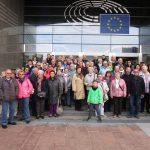 Sandhäuser SPD-Gemeinderat Rüttinger mit  Bürgern in die Europametropole Brüssel