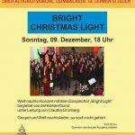 Bright Christmas Light - Konzert am kommenden Sonntag