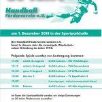 KuSG Leimen: 20 Jahre Handball Förderverein