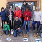 Gauangelloch: Erfolgreiche Pflanzaktion - Bürgertreff verschoben - Neubürgerempfang
