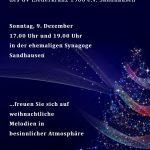 Weihnachts-Soirée – zum Sandhäuser Weihnachtsmarkt in der Alten Synagoge