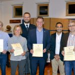 Blutspenderehrung in Nußloch - Bürgermeister Förster spendete auch bereits 25 Mal