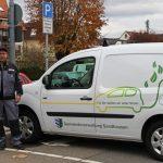 Das 2. e-Car des Sandhäuser Bauhofs nimmt seinen Dienst auf