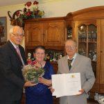 Leimen: Diamantene Hochzeit im Hause März