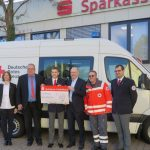 Sparkasse Heidelberg spendet DRK Sandhausen 5.000 € für Einsatzfahrzeug