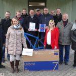 Der Weihnachtsmarkt kann kommen - Attraktive Tombola-Preise bei Leimen aktiv