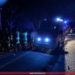 "Brandalarm in der ehemaligen US-Nachrichtenkaserne ""Hospital"""