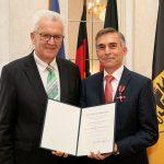 Günther Bubenitschek aus Sandhausen mit Verdienstorden ausgezeichnet