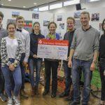 Winterbazar am Fr.-Ebert-Gymnasium erbringt 3.280 Euro für karitative Zwecke