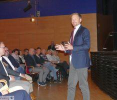 Wild-Halle proppenvoll bei FDP-Chef Lindner – Leimens OB Reinwald war auch da