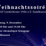 Liederkranz Sandhausen lädt ein zu 2 Soirées am Sonntag