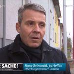 SWR zur Parkplatz-Posse in Leimen - Oberbürgermeister Hans Reinwald parteilos?