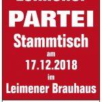 """""""Die Partei"""" - Stammtisch am Montag"""