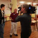 Hier wird auch Weihnachten gearbeitet: RTL drehte im Generationenzentrum St. Ilgen