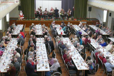 Leimener Senioren-Adventsfeier im wunderschönen Portland-Zement Forum