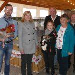 Kreisjugendschau in Leimen: Bürgermeisterin Claudia Felden ehrte Jugendzüchter