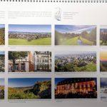 Panorama-Kalender von Leimen: 12 große Farbbilder zeigen die schönsten Seiten