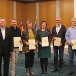 Sandhäuser Bürgermeister Kletti dankt Blutspendern für ihr vorbildliches Verhalten