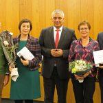 Gemeinderäte Ernst Klinger und Ingrid Marc-Baier vom Gemeindetag geehrt