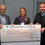 Spende der BAUFINANZ: Leimener Bauträger spendet 10.000 € für soziale Zwecke