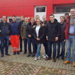 Jungen Union Rhein-Neckar besuchte und dankte DRK und Autobahnpolizei