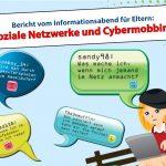 """Interessanter Elternvortrag zum Thema """"soziale Netzwerke und Cyber-Mobbing"""""""