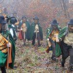 Die Nußlocher Gajemänndl kamen aus dem Wald: Faschingskampagne eröffnet