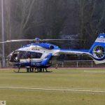 Leimen: Polizeieinsatz nach Familienstreit - </br>SEK kam per Hubschrauber