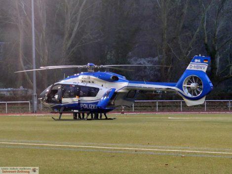 Leimen: Polizeieinsatz nach Familienstreit – </br>SEK kam per Hubschrauber