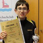 Schachklub Sandhausen: Jugend bei Badischen Meisterschaften erfolgreich